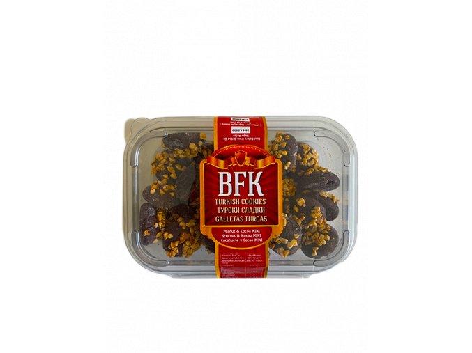 Sušenky oříškové s kakaem 300g BFK