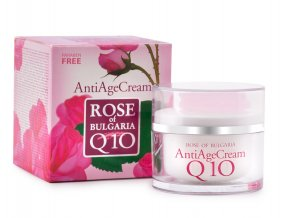 Anti-age krém s Q10 50ml RoseOfBulgaria