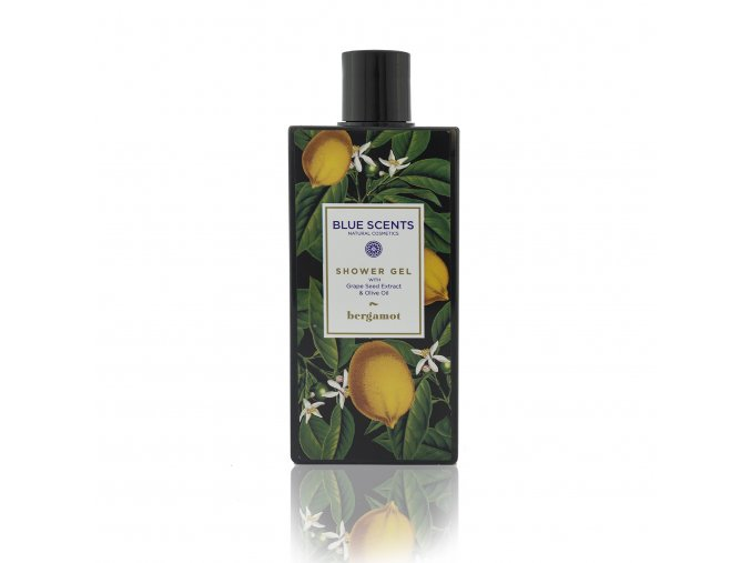 Blue Scents Sprchový gel, Bergamot, 250ml