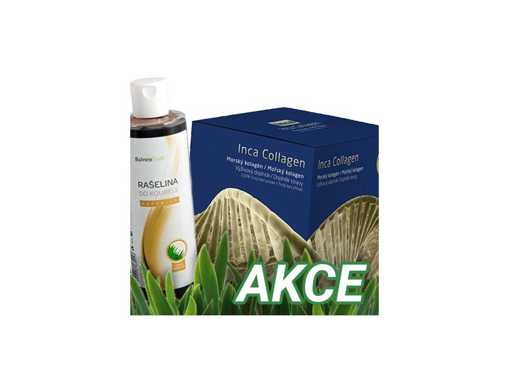 Inca Collagen, 30 sáčků + ZDARMA Rašelina do koupele nepěnivá Balneo Trade Cosmetics 250 ml