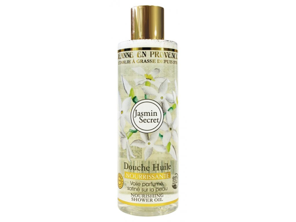 Výživný sprchový olej Jasmín 250 ml