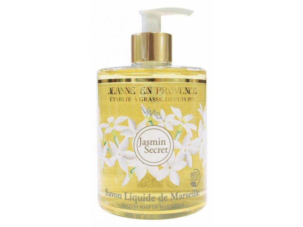 Tekuté hydratační mýdlo na ruce Jasmín Jeanne en Provence, 500 ml