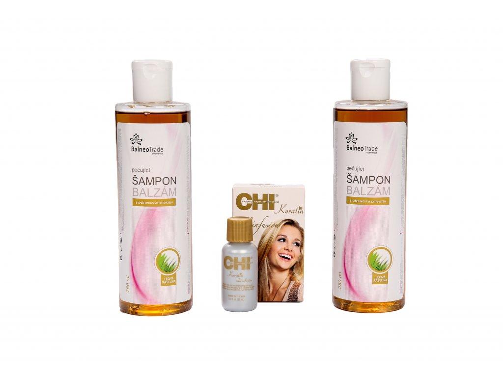 akce 2x šampon keratin