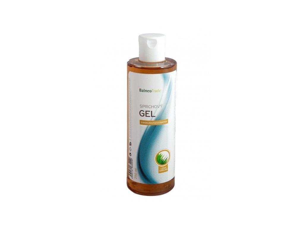 Sprchový gel s rašelinou