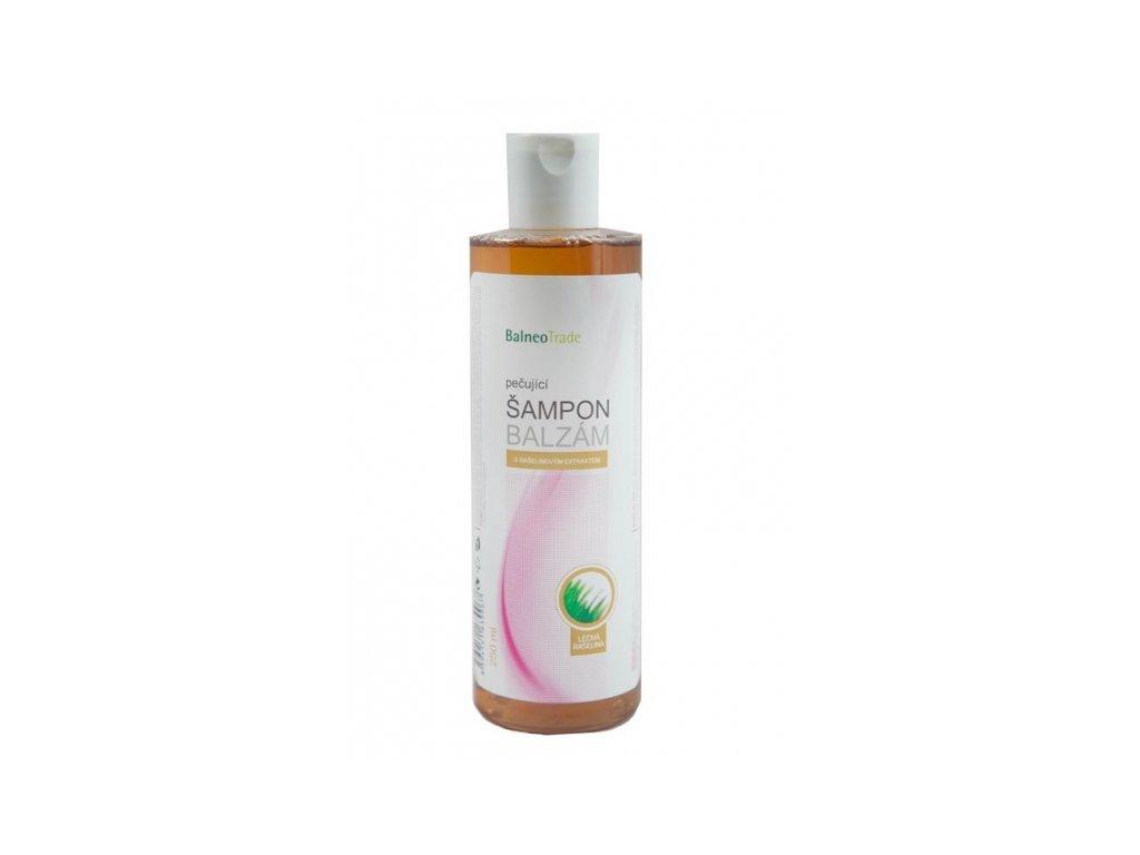 Pečující šampon s rašelinou