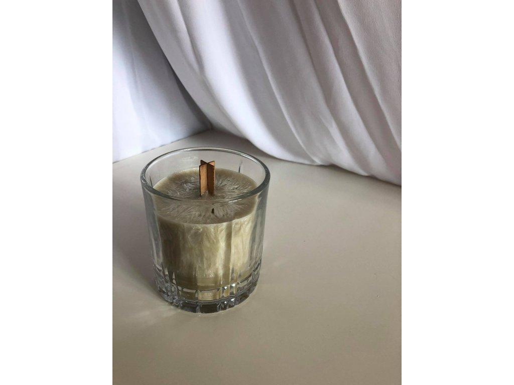 svíčka bylinný mix