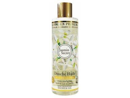 Výživný sprchový olej Jasmín Jeanne en Provence, 250 ml