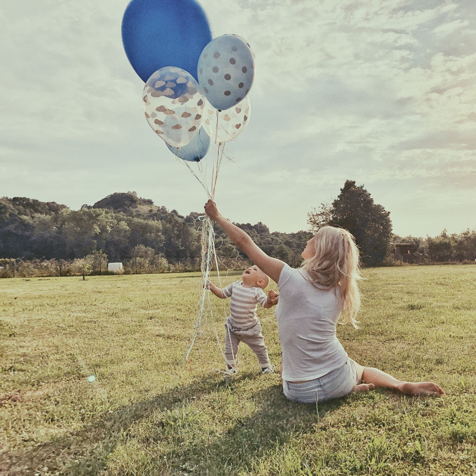 mix balónků