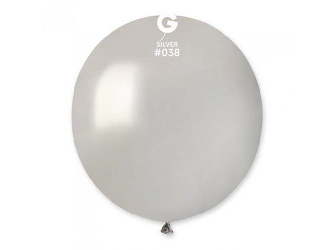 balonek stribrny 48 cm 510
