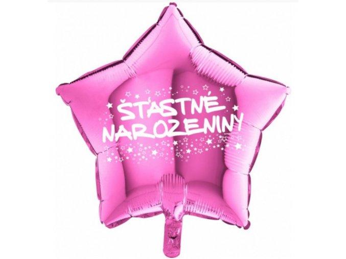 růžový šťastné narozeniny
