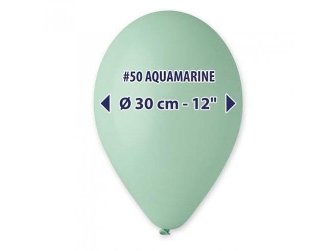 0002336 balonky 30 cm tyrkysova 100 ks 510