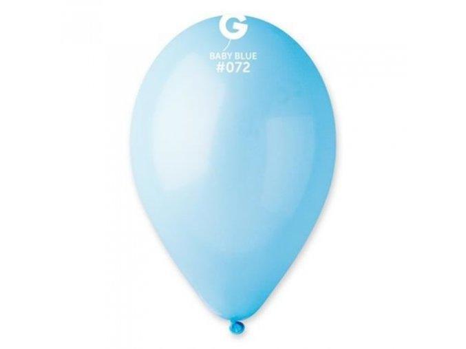 0004070 balonky 30 cm modre baby blue 100 ks 510