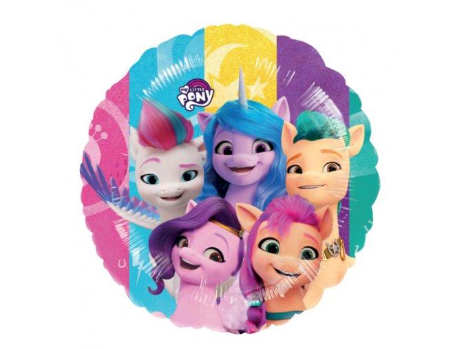 0005921 foliovy balonek kulaty hb my little pony 43 cm 510