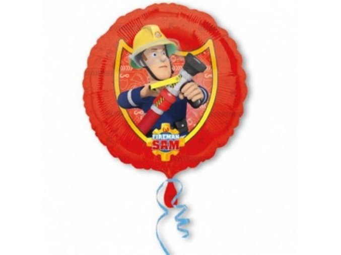 0003029 foliovy balonek pozarnik sam 43 cm 510