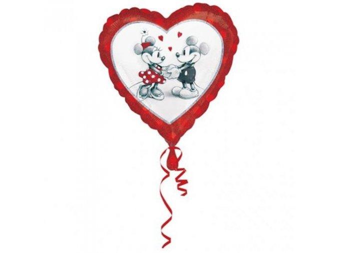 0005735 foliovy balonek mickey a minnie love 43 cm 510
