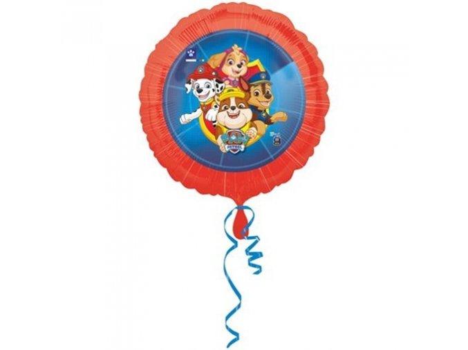 0008022 foliovy balonek tlapkova patrola 43 cm 510