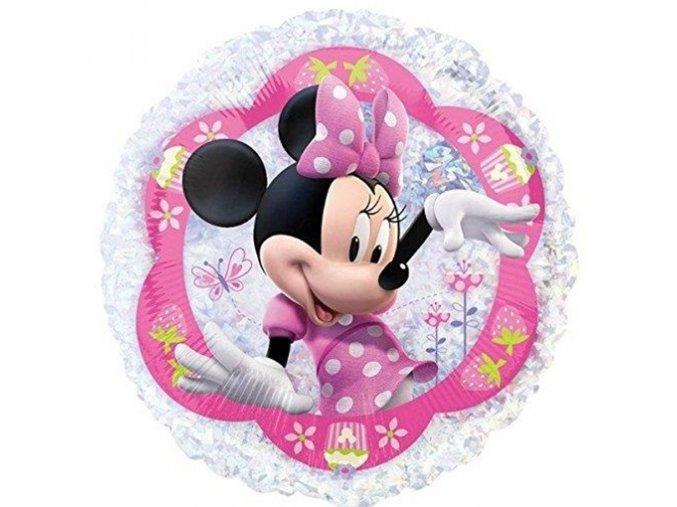 0006116 foliovy holograficky balonek minnie mouse 45 cm 510