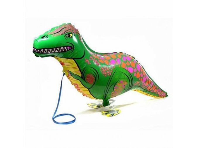 0001909 chodici balonek dinosaurus 510
