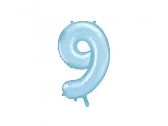 0008313 foliova cislice modra 9 86 cm 510