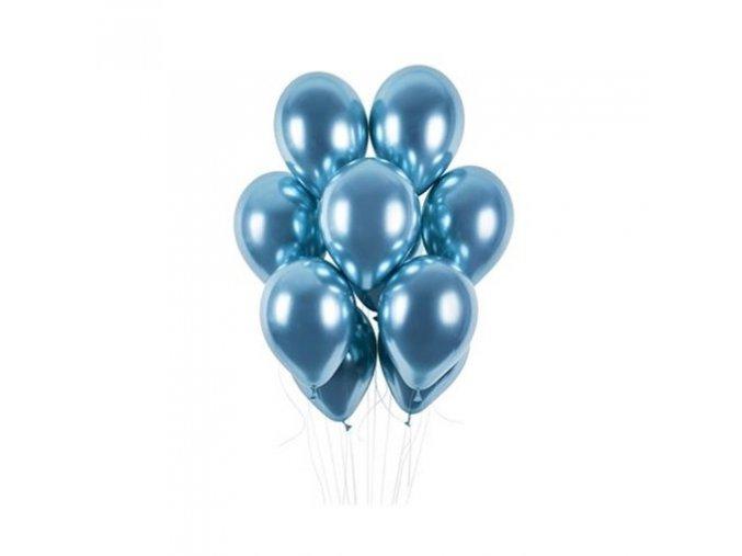 0009267 latexove balonky chrome modre 33 cm 50 ks 510