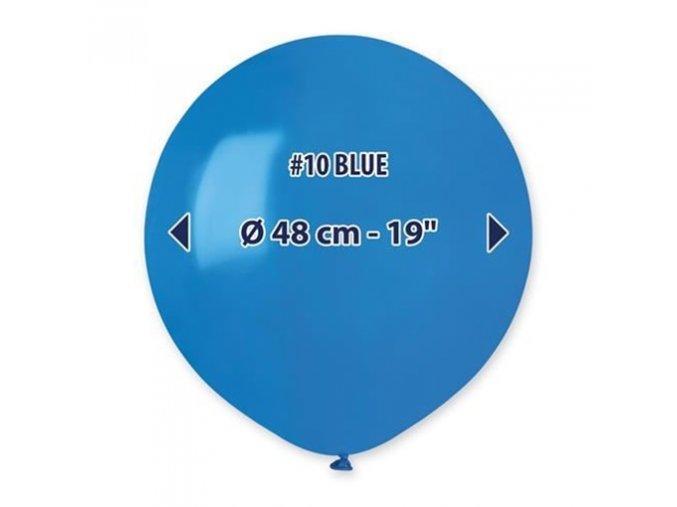 0003129 balonek 48 cm modry 510
