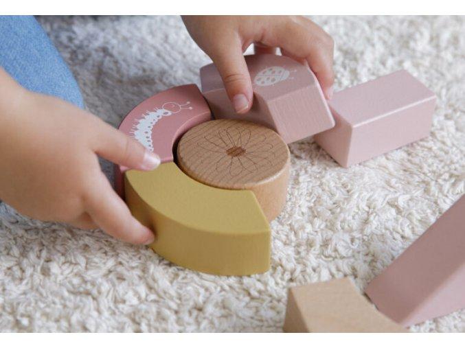 4414 wooden baby walker adventure pink 2