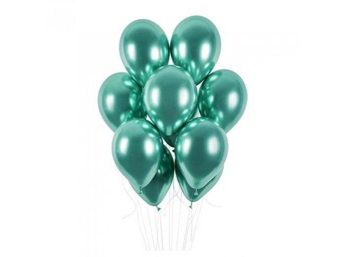 0009192 latexove balonky chrome zelene 33 cm 50 ks 510
