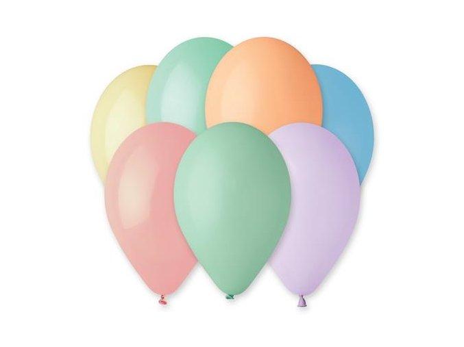 0008631 balonky 26 cm makronky mix 100 ks