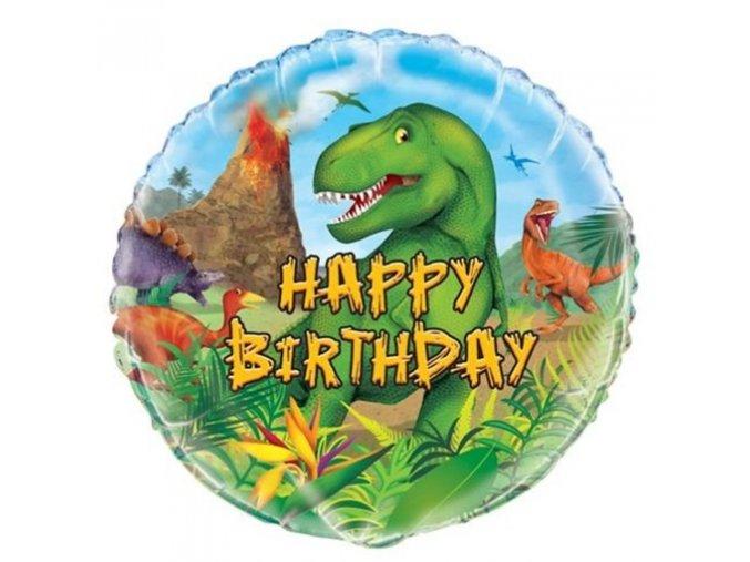 0006721 folioy balonek dinosaur 45 cm 510