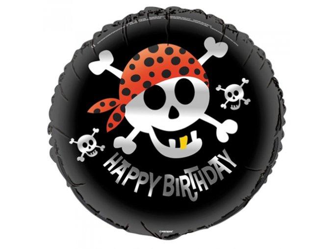 0003679 foliovy balonek happy birthday piratsky 510