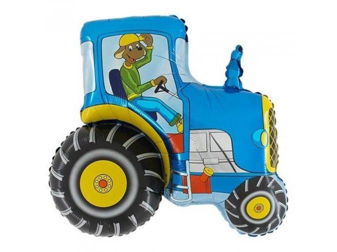 0001327 foliovy balonek traktor 60 cm 510