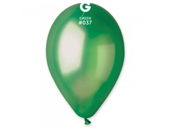 0001666 metalicke balonky 28 cm zelene 100 ks 510