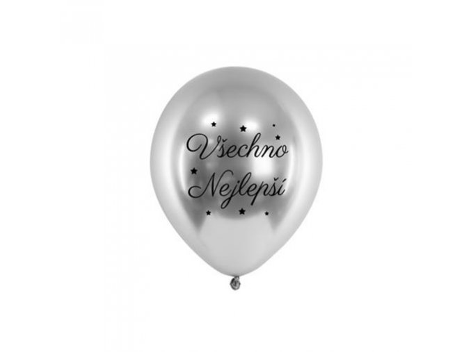 0014803 chromovy balonek vsechno nejlepsi stribrny 33 cm 510