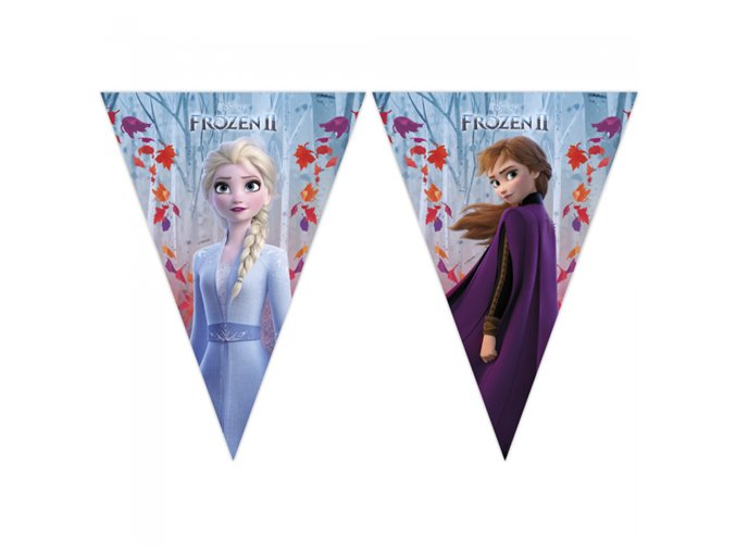 0009665 vlajeckova girlanda frozen 2 230 cm