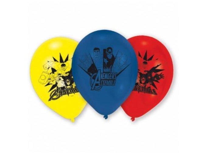 0002735 latexove balonky avengers 6 ks