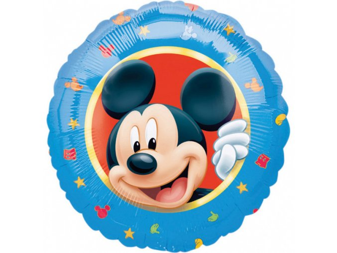 0016726 foliovy balonek pastel mickey mouse 43 cm