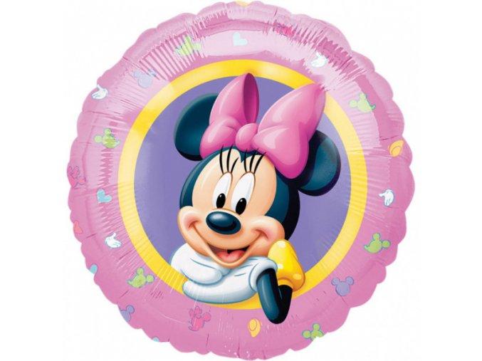 0016725 foliovy balonek pastel minnie mouse 43 cm
