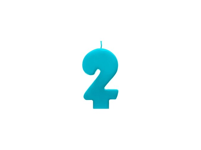 2 modrá