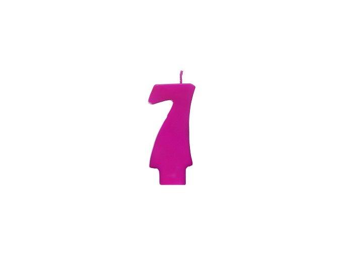 7 růžová