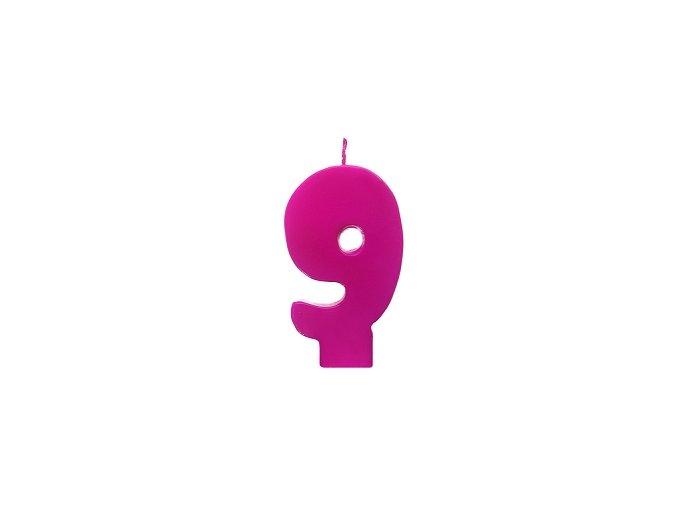 9 růžová
