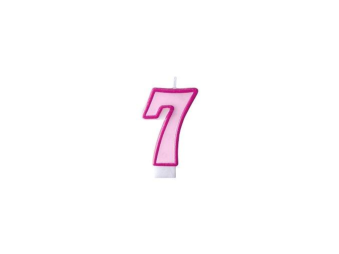 7 světle růžová