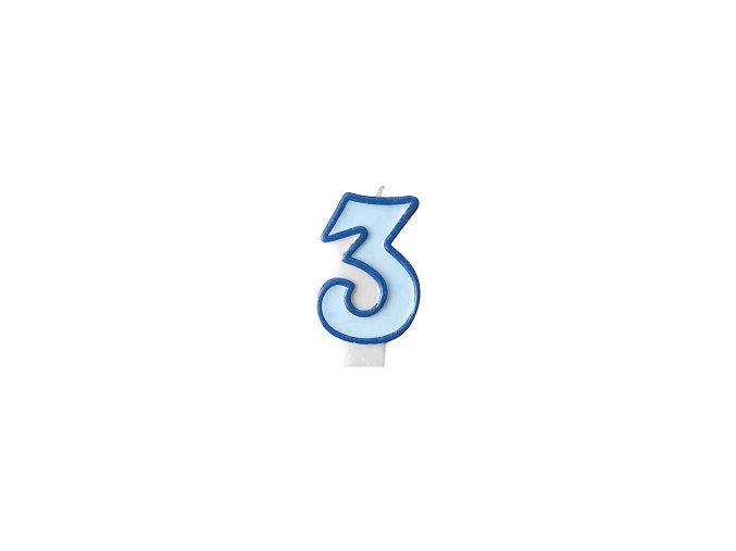 3 světle modrá