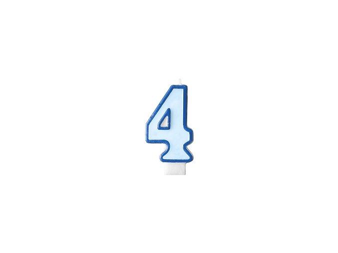 4 světle modrá