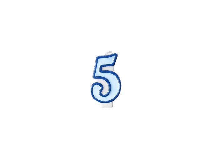 5 světle modrá