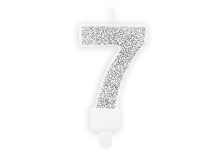 7 stříbrná