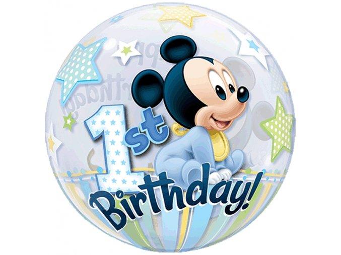 Balonova bublina Mickey 1. narozeniny 7112864