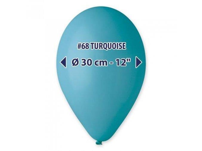 0002656 balonky 30 cm tmave tyrkysove 100 ks 510