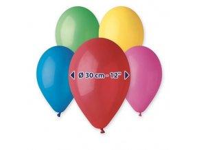 0001625 balonky 30 cm mi barev 100 ks 510