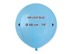 0003128 balonek 48 cm svetle modry 510