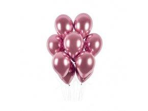 0009411 latexove balonky chrome ruzove 33 cm 50 ks 510